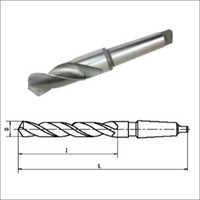 Twist Drills With Morse Taper Shank
