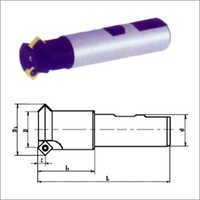 Indexable Chamfering Cutters