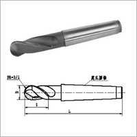 Carbide Ball-end Mills With Morse Taper Shank