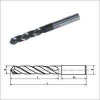 Solid Carbide Three Flute Drills