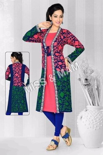 High Quality Fancy woolen kurti