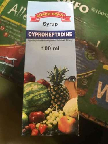 Cyproheptadine Hcl Syrup 2 Mg. / 5 Ml.