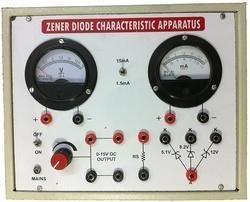 Zenzer diode characteristics apparatus