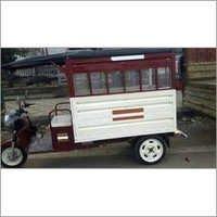 Electric School Rickshaw