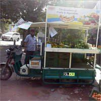 Fruits and Vegetable E-Rickshaw