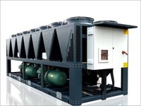 Air Cooled Screw Chiller Plant
