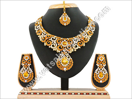 Necklace Set Yellow