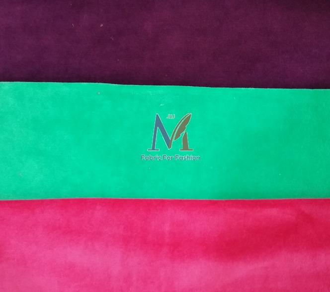 Cotton Stripe Velour Fabric