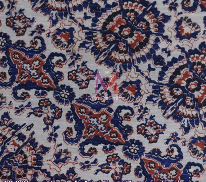 Polyester Jacquard Knitted Fabric