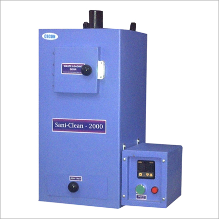 Sanitary Napkin Disposal Incinerator