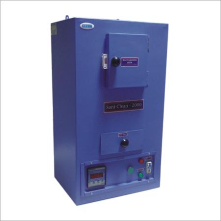 Sanitary Napkin Disposal Incinerator