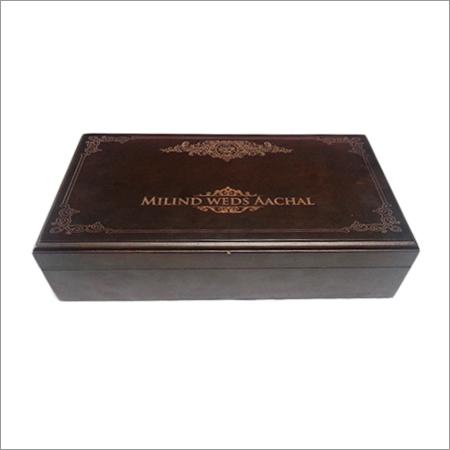 Wooden Wedding Jewellery Box