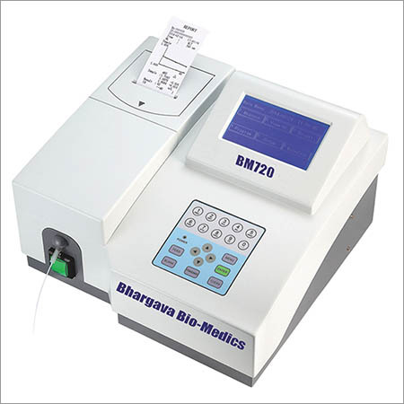 Semi auto Chemistry Analyzer