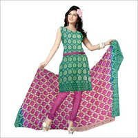 Bandhani Gadhwal Dress Materials