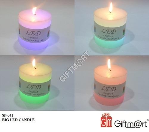 Big Glass Gel Candle