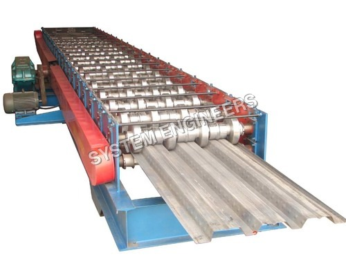 Automatic Decking Sheet Forming Machine