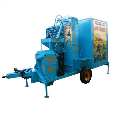 Semi-Automatic Rice Polisher Machine