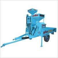 Manual Mobile Rice Mill