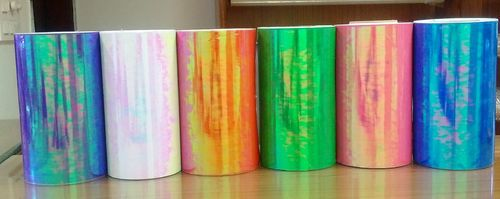 Iridescent color changing Films