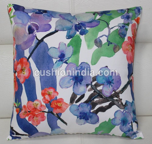 Art  Image  Printed  Cushion  Cover - 40 Cm Sq.