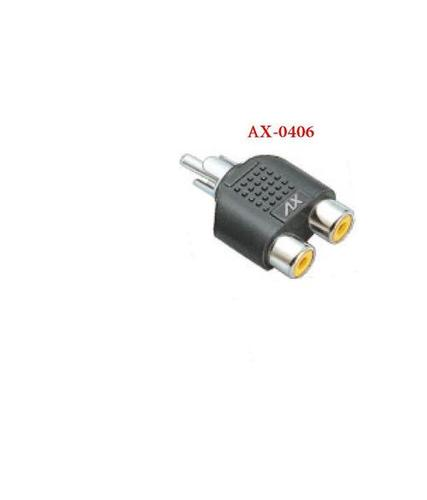 RCA TO 2 RCA SOCKETS ADAPTOR