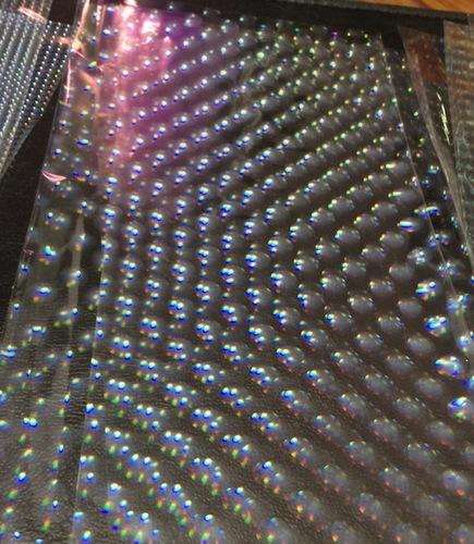 Holographic Film Transparent Rain Drops