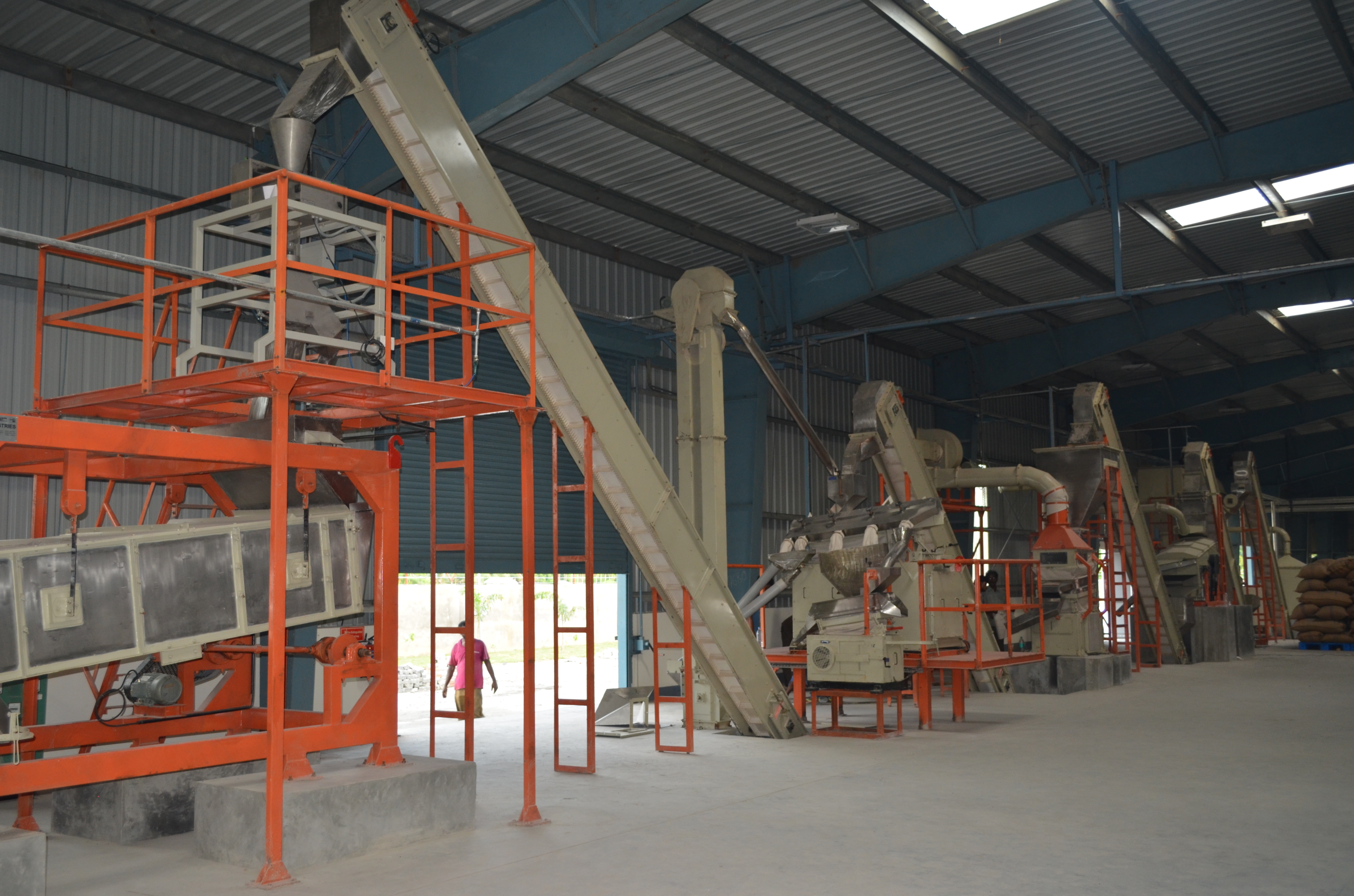 Ginger Processing Plant