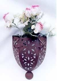 Decorative Wall Flower Stand