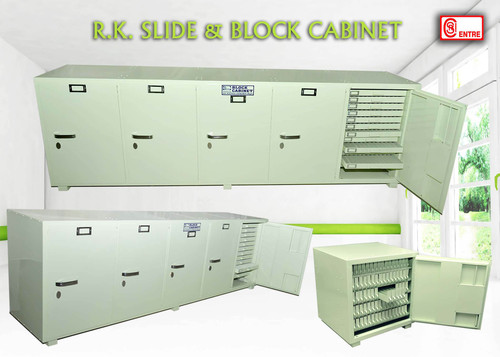 Wax Block Storage Cabinets