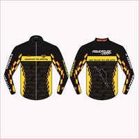 Printed Racing Jacket