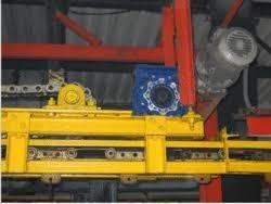 Four Wheel Oven Conveyor