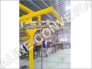 4 Wheel Bend Conveyor