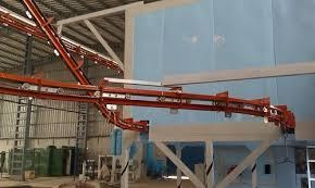 Inclined Modular Belt Conveyor
