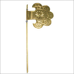Brass Hand Fan