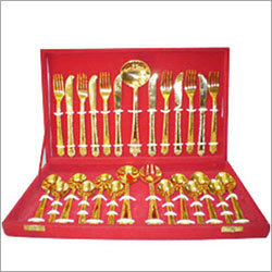 Brass Spoon Set