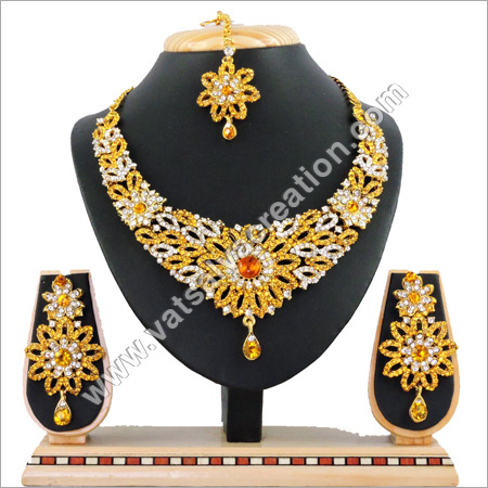 Yellow Necklace Set