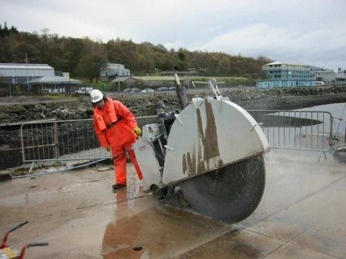 Concrete Floor Sawing Services