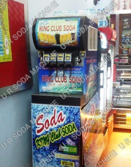 4+1 Soda Machine