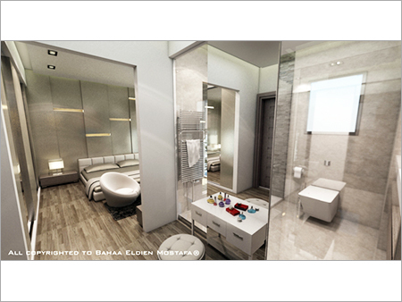 Modern Bathroom Interior Services