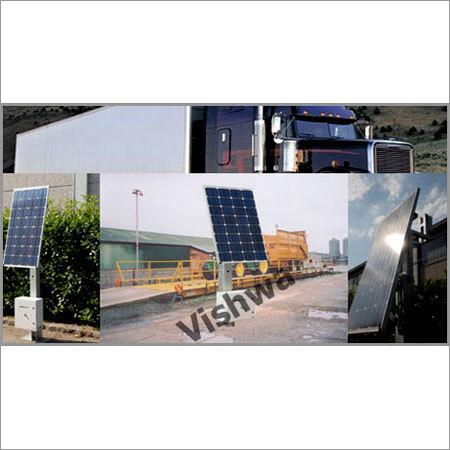 Solar Powered Weighbridge