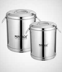Storage Box / Drum ( High Gloss Mirror Finish )