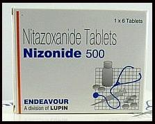 Nitazoxanide Tablet