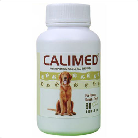 Dog calcium tablet