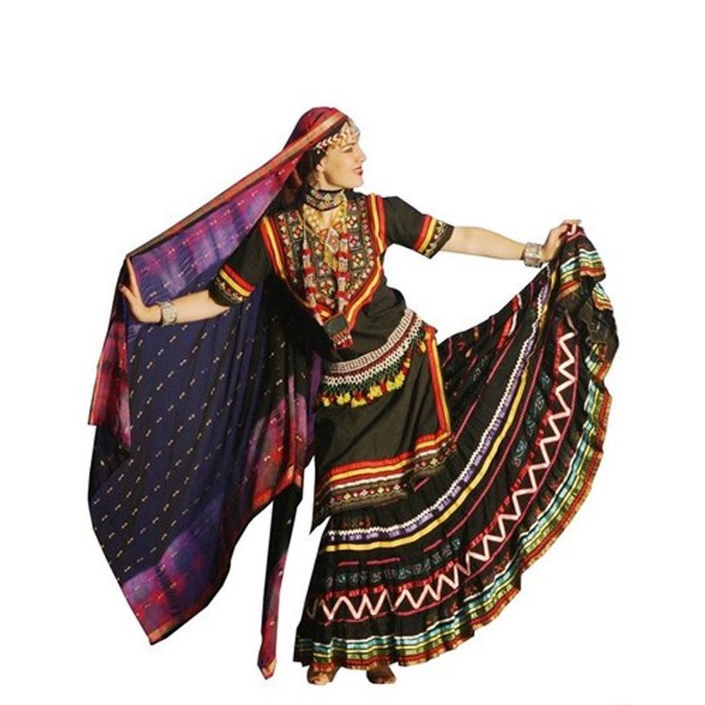 Kalbelia Dance Costumes & Clothes