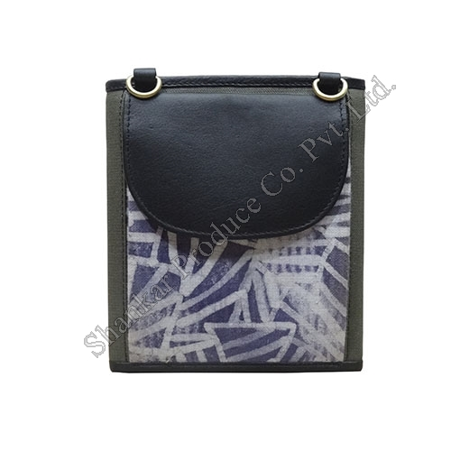 Canvas Batik Cross body Sling Bag