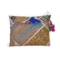 Tribal Hand Embroidered Envelope Bag