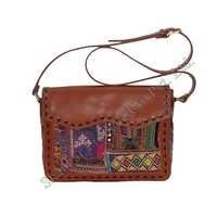 Embroidered Sling Bag