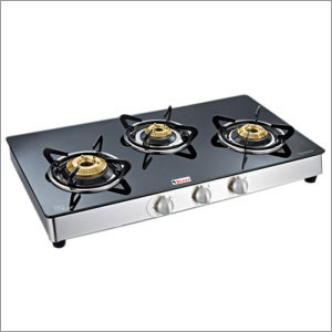 Three Gas Burner Cook Top