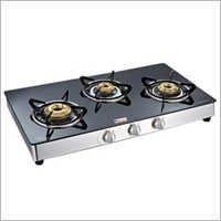 Three Gas Burner Cook Top