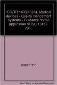 PD ISO/TR 14969:2004